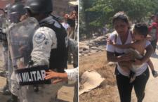 IMAGEN DEL DÍA | Muro militar ahoga el anhelo migrante
