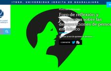 EN AGENDHA | Foro de reflexión y propuestas sobre las desapariciones de personas en Jalisco