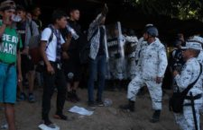 ONUDH pide a México evitar el uso de fuerza contra migrantes