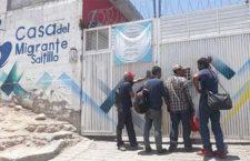 Respaldan labor de Casa del Migrante en Saltillo ante difamación