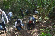IMAGEN DEL DÍA | Familiares de desaparecidos en Veracruz escarban en busca de fosas clandestinas