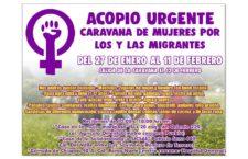 EN AGENDHA   Acopio para Caravana de mujeres por las y los migrantes