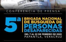 EN AGENDHA | Conferencia de prensa 5a Brigada Nacional de Búsqueda