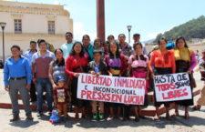Indígenas torturados y presos reinician huelga de hambre