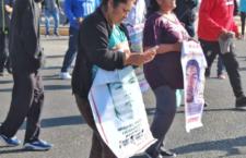 Respaldo a madres y padres de Ayotzinapa ante agresiones