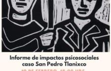 EN AGENDHA   Presentación de informe de impactos psicosociales sobre el caso Tlanixco