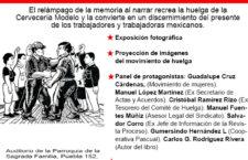 EN AGENDHA | Presentación de libro sobre huelga en Cervecería Modelo