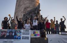 IMAGEN DEL DÍA | Acto de memoria a dos años de la desaparición forzada de los estudiantes del CAAV