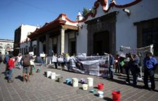 IMAGEN DEL DÍA | Protesta por escasez de agua en Coyoacán