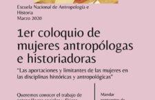 EN AGENDHA | Primer Coloquio de mujeres antropólogas e historiadoras