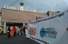 IMAGEN DEL DÍA | Manifestación contra Constellation Brands en la CDMX