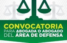 EN AGENDHA | Vacante para área de Defensa en Centro Prodh