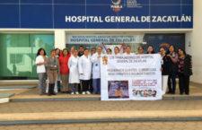 IMAGEN DEL DÍA | Médicos y enfermeras protestan por falta de insumos