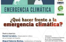 EN AGENDHA | Conferencia ¿Qué hacer frente a la crisis climática?