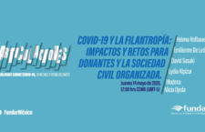 EN AGENDHA | Diálogo: Impactos y retos para donantes y sociedad civil organizada