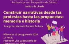 EN AGENDHA | Charla: Construir narrativas desde las protestas hasta las propuestas