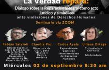 EN AGENDHA | Seminario. La Verdad repara: diálogo sobre la reparación integral como acto jurídico y simbólico