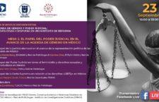 EN AGENDHA | Mesa: El papel del Poder Judicial en el avance de la agenda de género