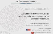 EN AGENDHA   Seminario Itinerante Diálogos sobre la Investigación en Desaparición de Personas