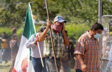 IMAGEN DEL DÍA   Agricultores desalojan a la Guardia Nacional de la Presa La Boquilla