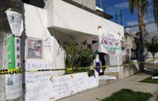 IMAGEN DEL DÍA | Feministas protestan en fiestas patrias; ocupan sedes estatales de la CNDH