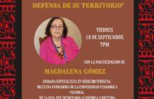 """EN AGENDHA   Conferencia """"El interés legítimo y jurídico de los pueblos mayas en la defensa de su territorio"""""""