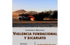 EN AGENDHA | Conferencia: Violencia fundacional y sicariato