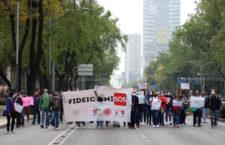 IMAGEN DEL DÍA | Piden no desaparecer fideicomisos de ciencias y de derechos humanos