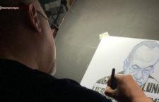 Amenazan de muerte a caricaturista Rapé