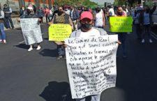 IMAGEN DEL DÍA | Damnificados del S19 bloquean avenida porque siguen sin viviendas