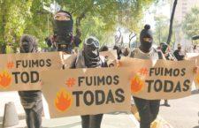 """IMAGEN DEL DÍA   Colectivos rechazan """"cacería"""" contra feministas"""