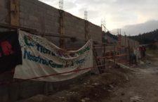 IMAGEN DEL DÍA | Ambientalistas clausuran construcción que impacta humedales en Chiapas
