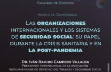 """EN AGENDHA   Conferencia """"Las Organizaciones Internacionales y los Sistemas de Seguridad Social durante la pandemia"""""""