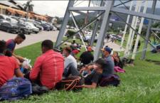 IMAGEN DEL DÍA | Caravana migrante se alista y México blinda frontera