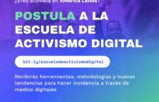 EN AGENDHA | Postula a la Escuela de Activismo Digital