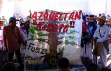 """FRASE DEL DÍA   """"No permitiremos más despojos ni hostigamiento a nuestras autoridades"""": comunidad de Azqueltán"""