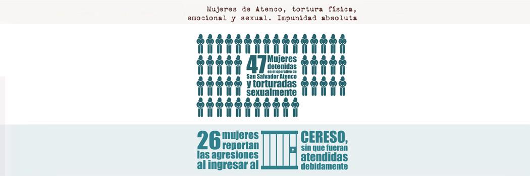Mujeres de Atenco, tortura física,  emocional y sexual. Impunidad absoluta