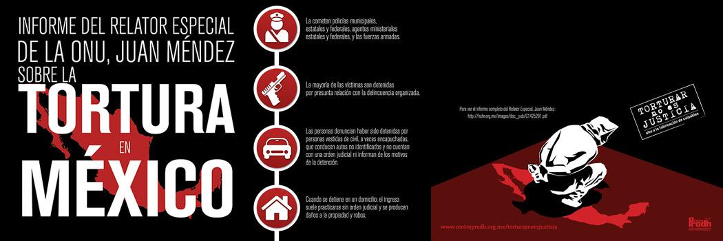 Informe del Relator Especial de la ONU, Juan Méndez sobre la Tortura en México Pt. 1