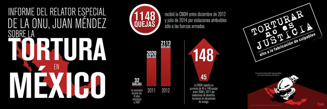 Informe del Relator Especial de la ONU, Juan Méndez sobre la Tortura en México Pt. 3