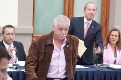 Nepomuceno Moreno en los diálogos con el presidente Calderón