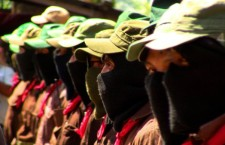 EZLN en apoyo a normalistas de Ayotzinapa | Foto: Saúl Kak