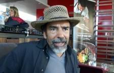 El actor, en entrevista con La Jornada