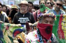 Marcha en México contra el maíz transgénico