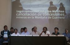 Comunidad indígena Me'phaa logra cancelación de concesiones mineras en la Montaña de Guerrero