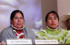 Foto: Conferencia de prensa Centro Prodh