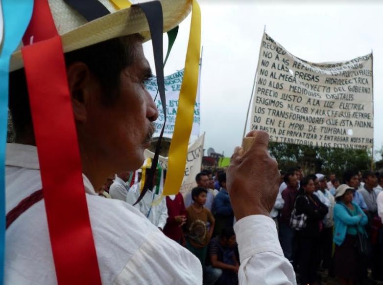 Inicia peregrinación en defensa de la tierra en Chiapas