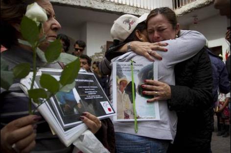 Piden perdón a familiares de migrantes desaparecidos en su paso por México