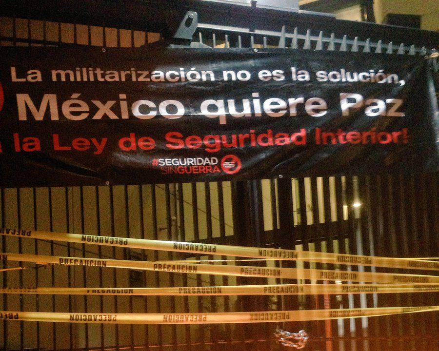 Se presentarán acciones de inconstitucionalidad por  Ley de Seguridad