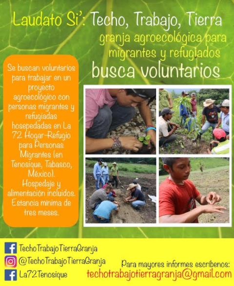 Voluntariado en granja agroecológica en La 72
