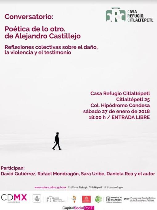 Conversatorio – presentación de libro sobre violencia